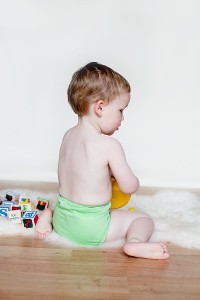 Making the switch from disposables to reusable nappies.