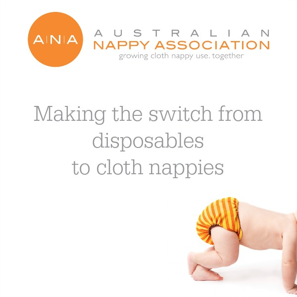 Making the switch from disposables to cloth nappies