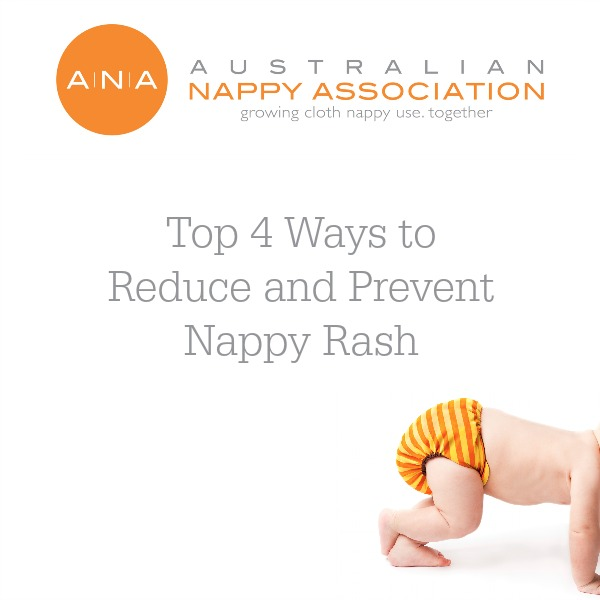Top 4 ways to reduce and prevent nappy rash