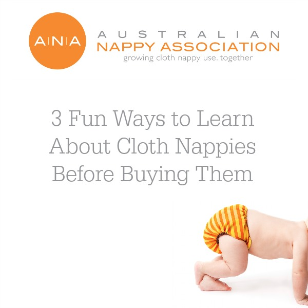 If you want to touch and feel a cloth nappy before purchase, here are 3 ways to do that all year round.