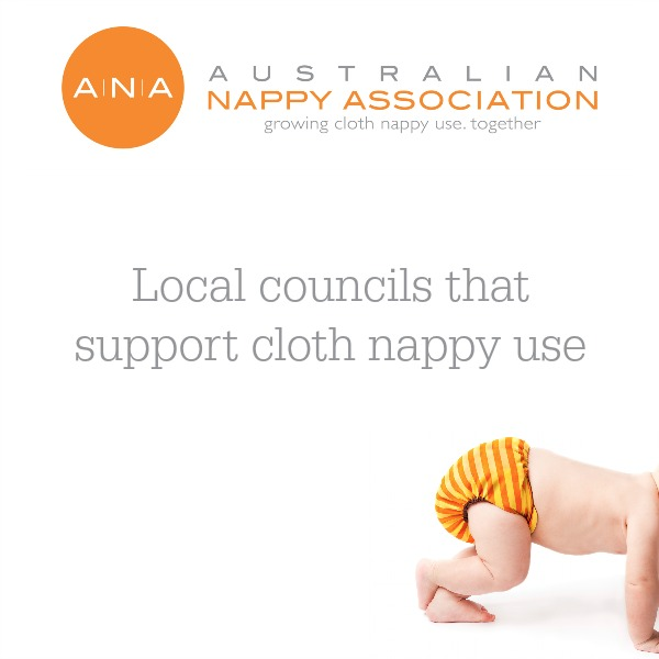 Many councils across Australia offer cloth nappy services such as nappy hire libraries, rebates and packs, demonstration kits and workshops.