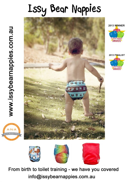 Issy Bear Nappies: ANA Accredited
