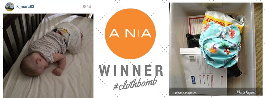 Instagram competition winners #clothbomb @australiannappyassociation