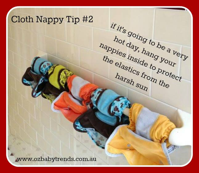 hot weather nappying tips