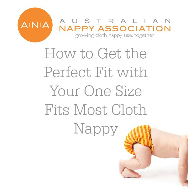 How to get the perfect fit with your OSFM cloth nappy